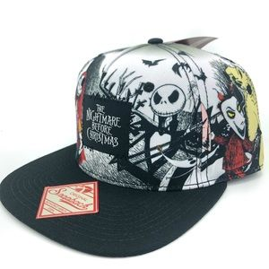 Nightmare Before Christmas snapback hat cap